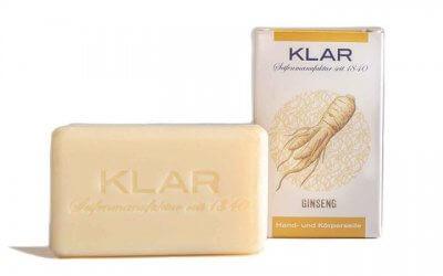 KLAR'S Ginsengseife palmölfrei