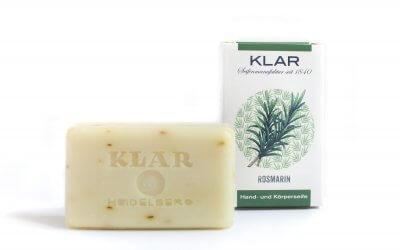 KLAR'S Rosmarinseife palmölfrei