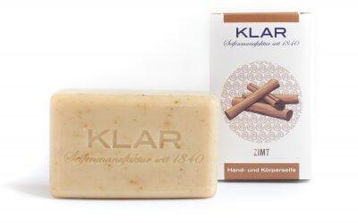 KLAR'S Zimtseife palmölfrei
