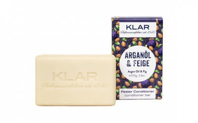 KLAR'S fester Conditioner Arganöl/Feige (für trockenes Haar)