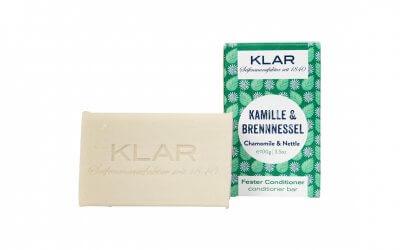 KLAR'S fester Conditioner Kamille/Brennnessel (für störrisches Haar)