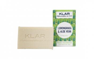 KLAR'S fester Conditioner Lemongrass/Aloe Vera (für fettiges Haar)