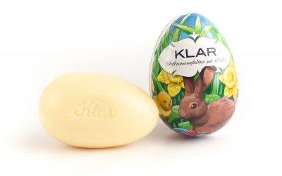 KLAR'S Seifen-Osterei Lavendel/Osterhase palmölfrei