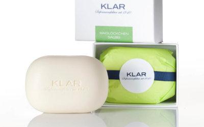 KLAR'S Pflegeseife Maiglöckchen & Salbei