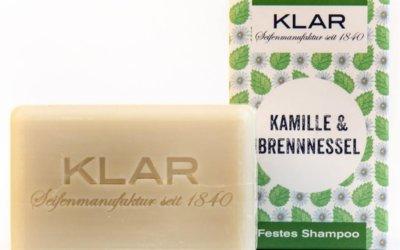 KLAR'S festes Shampoo Kamille/Brennnessel