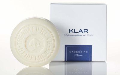 KLAR'S Herren Badeseife