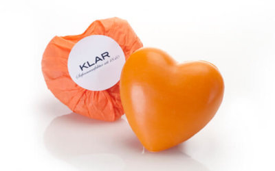 KLAR'S Herzseife Orange