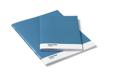 Pantone BOOKLET 2er-Set in 4 bunten Farben, unliniert