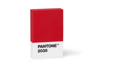 Pantone RADIERGUMMI in 4 bunten Farben