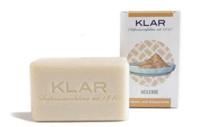 KLAR'S Heilerdeseife palmölfrei