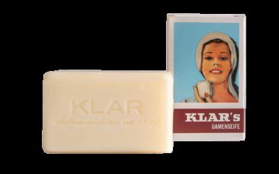 KLAR'S Damenseife palmölfrei
