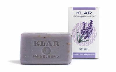 KLAR'S Lavendelseife palmölfrei