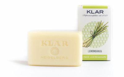 KLAR'S Lemongrassseife palmölfrei