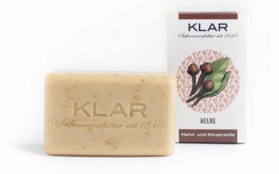 KLAR'S Nelkenseife palmölfrei