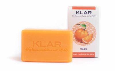 KLAR'S Orangenseife palmölfrei