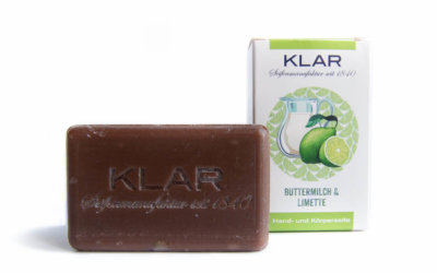 KLAR's Buttermilch & Limettenseife palmölfrei