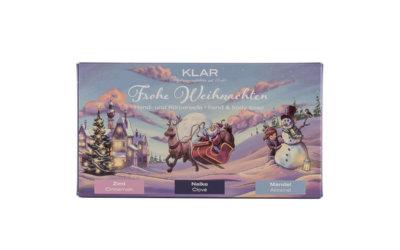 """Klar's 3er Weihnachts-Set """"Stille Nacht"""" palmölfrei"""