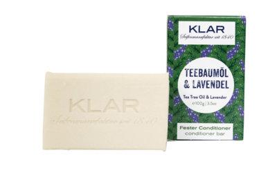 KLAR'S fester Conditioner Teebaumöl/Lavendel (gegen Schuppen)