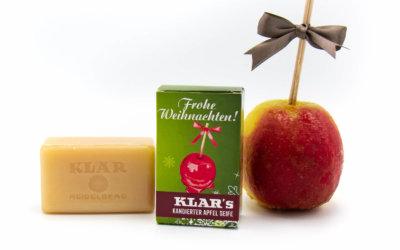 KLAR'S Weihnachtsseife kandierter Apfel